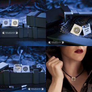 Pro Gun Unisex Sterling Silver Jewelry