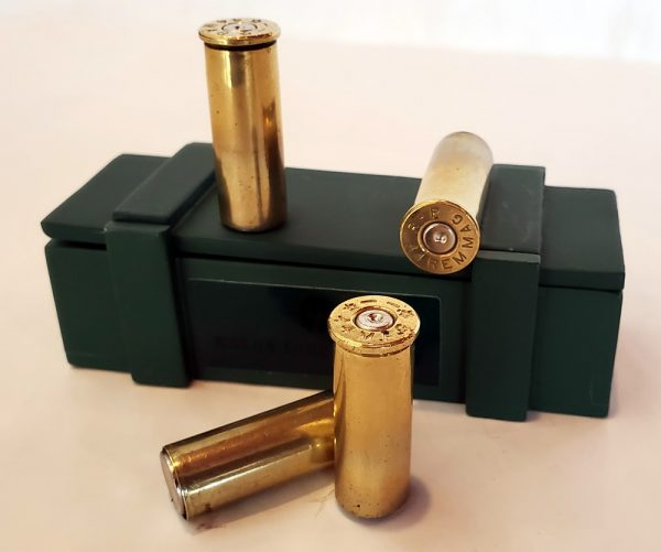 44 Magnum Brass Fridge Magnet - set of 4 with box