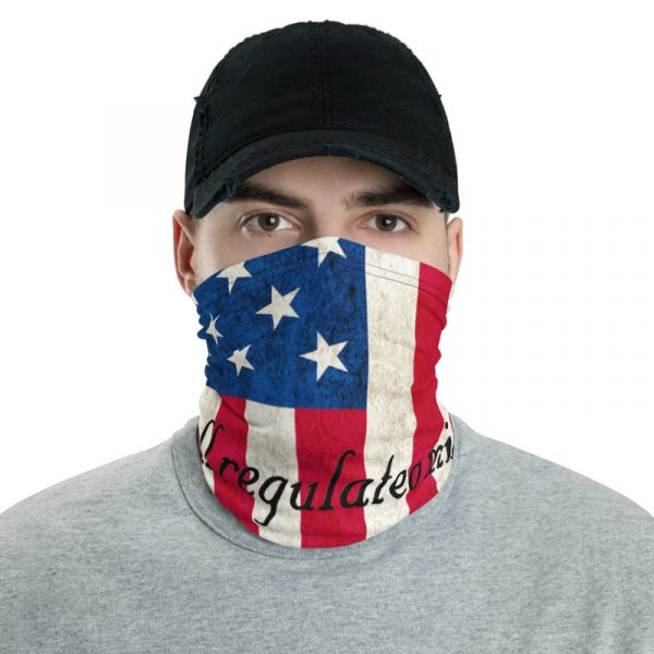 American Flag and 2nd Amendment Neck Gaiter