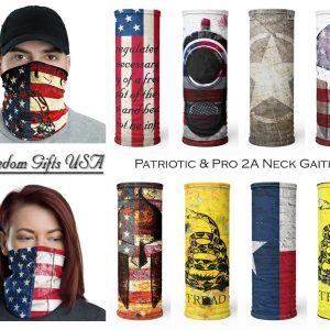 Patriotic Face Masks and Neck Gaiter