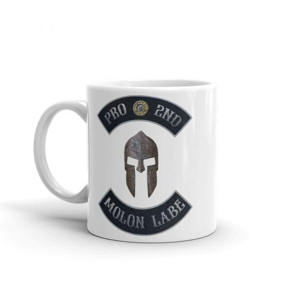Pro 2nd Amendment - Molon Labe - Spartan Helmet 11 oz Mug