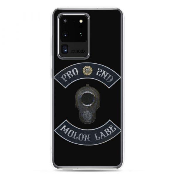Pro 2nd Amendment - Molon Labe - M1911 Samsung Galaxy S20 Ultra Phone Case
