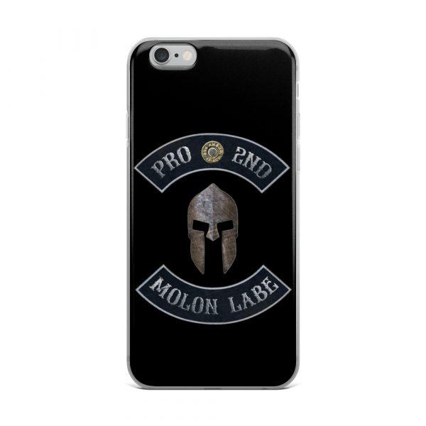 Pro 2nd Amendment - Molon Labe - Spartan Helmet iPhone 6 Plus case