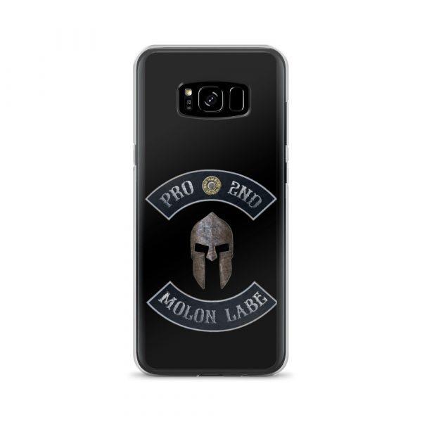Pro 2nd Amendment – Molon Labe – Spartan Helmet Samsung Galaxy S8 Plus Case