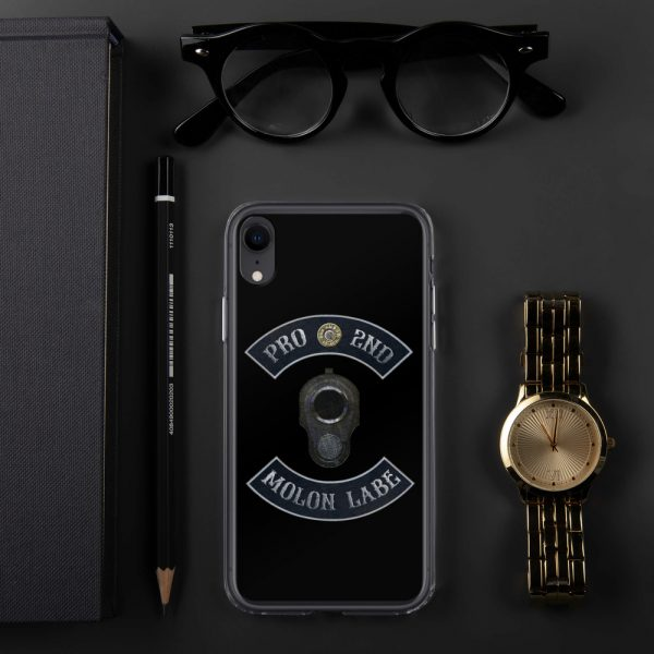 Pro 2nd Amendment - Molon Labe - M1911 iPhone XR Case