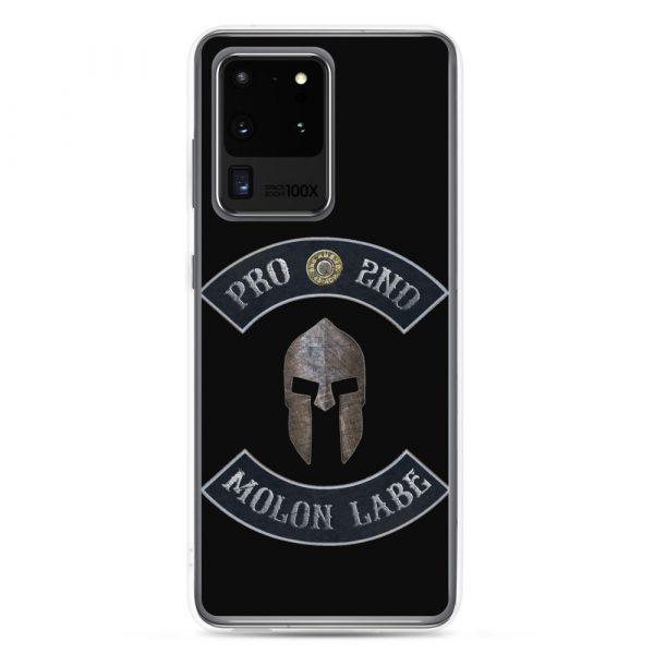 Pro 2nd Amendment – Molon Labe – Spartan Helmet Samsung Galaxy S20 Ultra Case