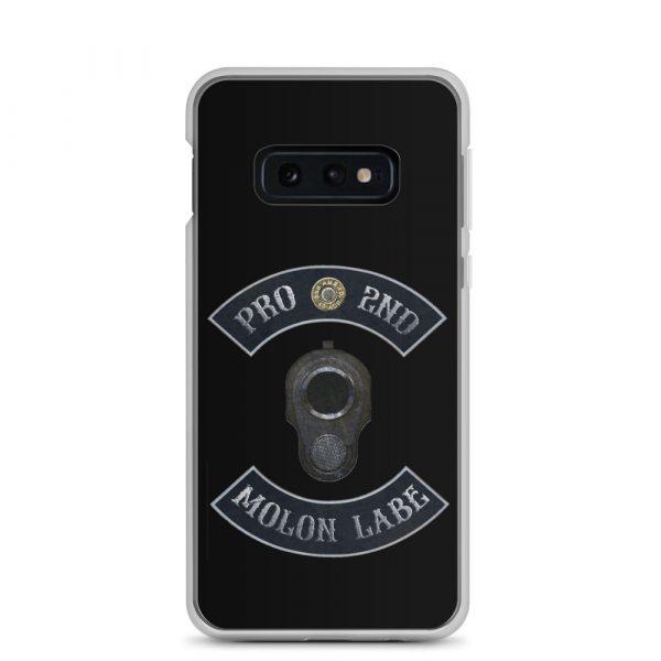 Pro 2nd Amendment - Molon Labe - M1911 Samsung Galaxy S10e Phone Case