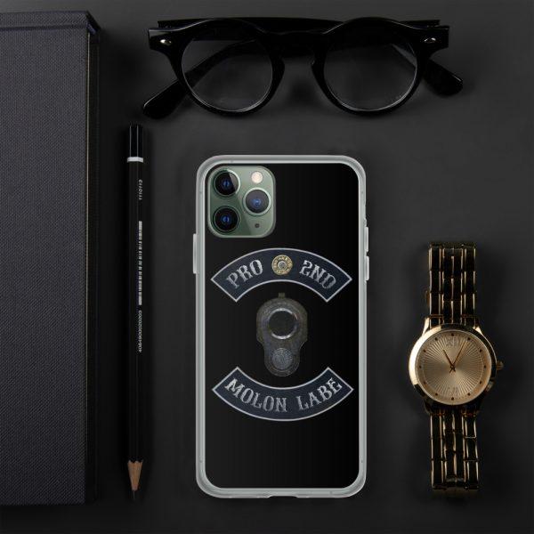 Pro 2nd Amendment - Molon Labe - M1911 iPhone 11 Pro Case
