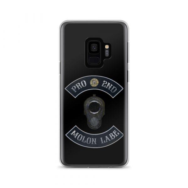 Pro 2nd Amendment - Molon Labe - M1911 Samsung Galaxy S9+ Phone Case