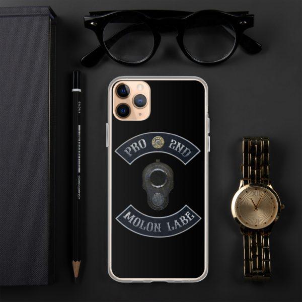 Pro 2nd Amendment - Molon Labe - M1911 iPhone 11 Max Case