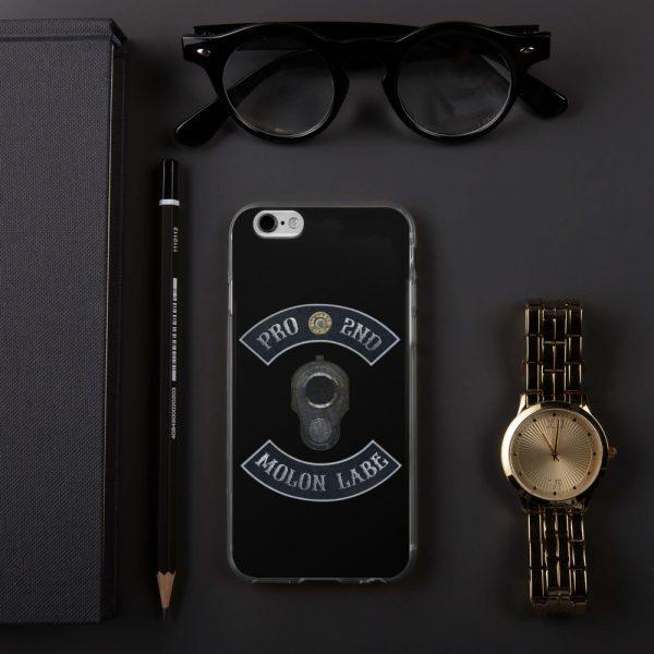 Pro 2nd Amendment - Molon Labe - M1911 iPhone 6+ Case