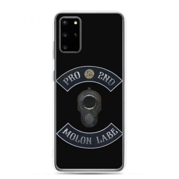 Pro 2nd Amendment - Molon Labe - M1911 Samsung Galaxy S20 Plus Phone Case