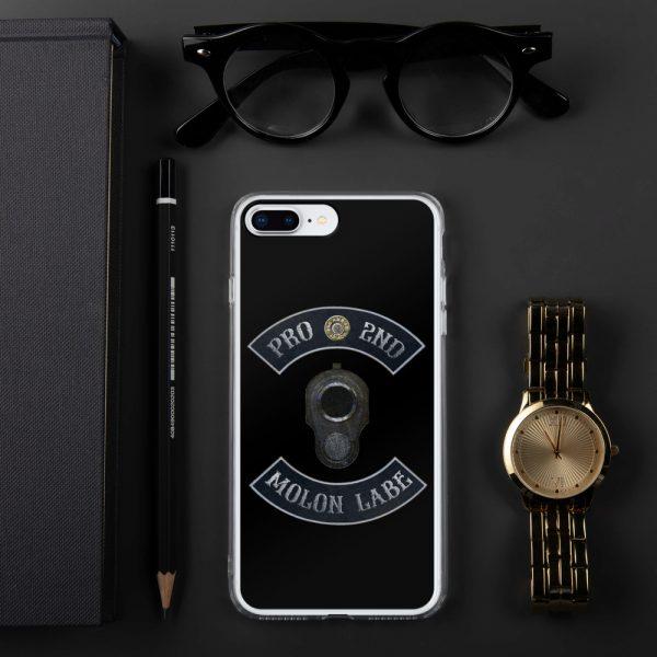 Pro 2nd Amendment - Molon Labe - M1911 iPhone 7/8 + Case