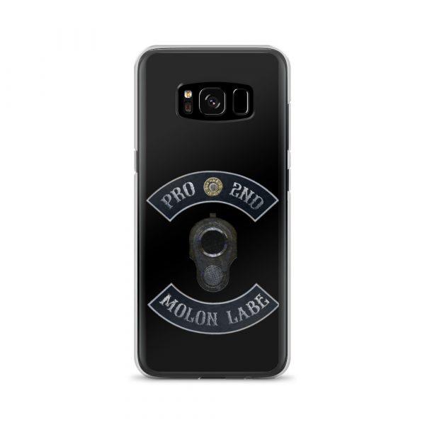 Pro 2nd Amendment - Molon Labe - M1911 Samsung Galaxy 8 Phone Case