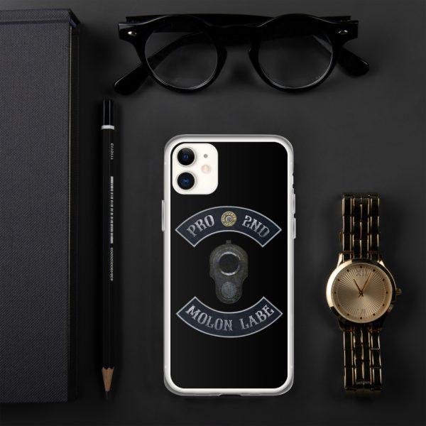 Pro 2nd Amendment - Molon Labe - M1911 iPhone 11 Case