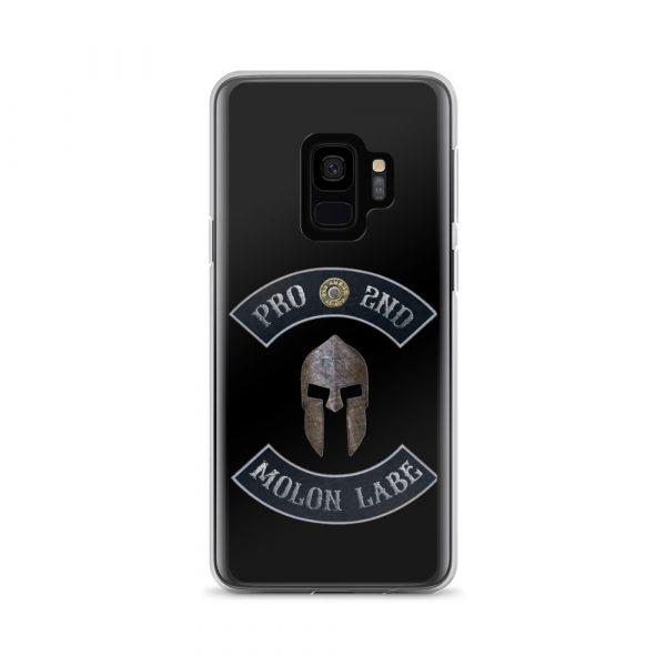 Pro 2nd Amendment – Molon Labe – Spartan Helmet Samsung Galaxy S9 Case