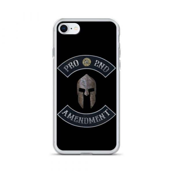 Pro 2nd Amendment with Spartan Helmet iPhone 7/8 Case
