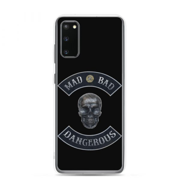 Bad Mad and Dangerous with Skull Samsung Galaxy S20 phone case