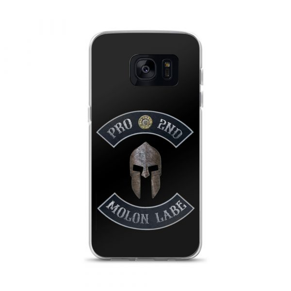 Pro 2nd Amendment – Molon Labe – Spartan Helmet Samsung Galaxy S7 Case