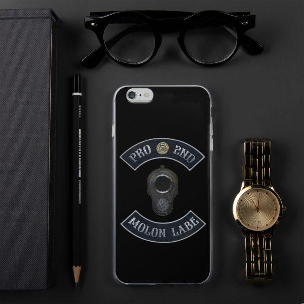 Pro 2nd Amendment - Molon Labe - M1911 iPhone 7/8 Case