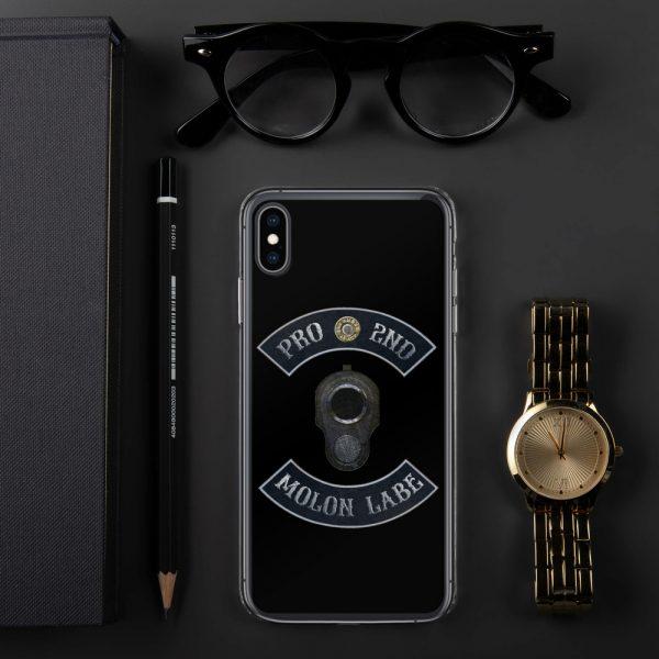 Pro 2nd Amendment - Molon Labe - M1911 iPhone XS Case