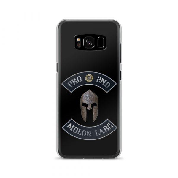 Pro 2nd Amendment – Molon Labe – Spartan Helmet Samsung Galaxy S8 Case