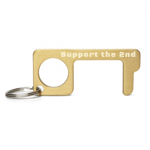 Engraved Brass No Touch Tool - Support the 2nd